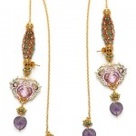 Dangling earring by Manish Arora for Amrapali