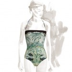 Aloha, Hermes one-piece swimsuit