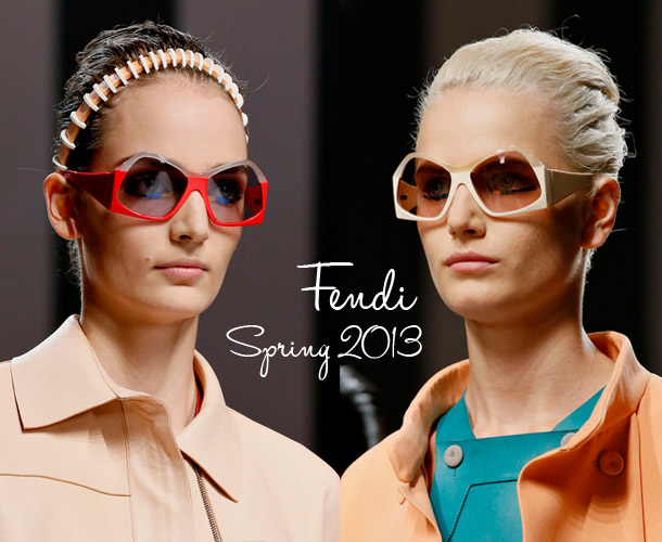Fendi's Oversized Geometric Sunglasses