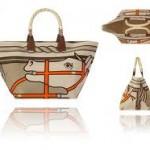Hermes Steeple Canvas bag