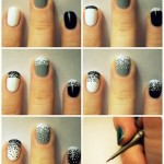 Dotted Nail Paint