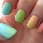 Ombre Nail Color