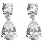Drop Marquis Solitaire Earrings