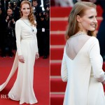 Jessica Chastain In Versace Collection