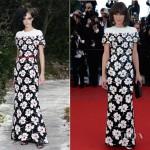 Milla Jovovich In Chanel Couture