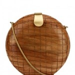 FRENCH CONNECTION Wooden Clutch