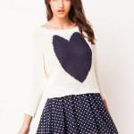 LOVE Comfort Top With Batwing Sleeves