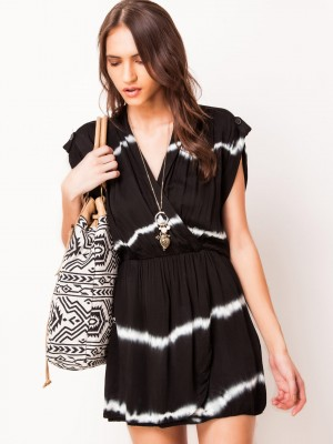 LOVE Tunic Dress In Wrap Style