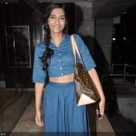 Sonam Kapoor sporting the Midriff Trend