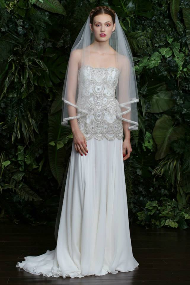Naeem Khan Bridal Fall 2014 Collection